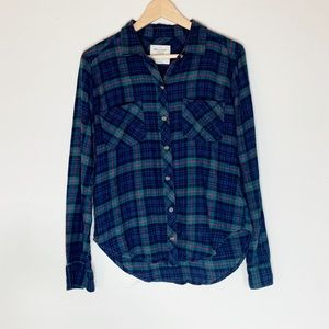 Women's Flannel Abercrombie & Fitch Button Down